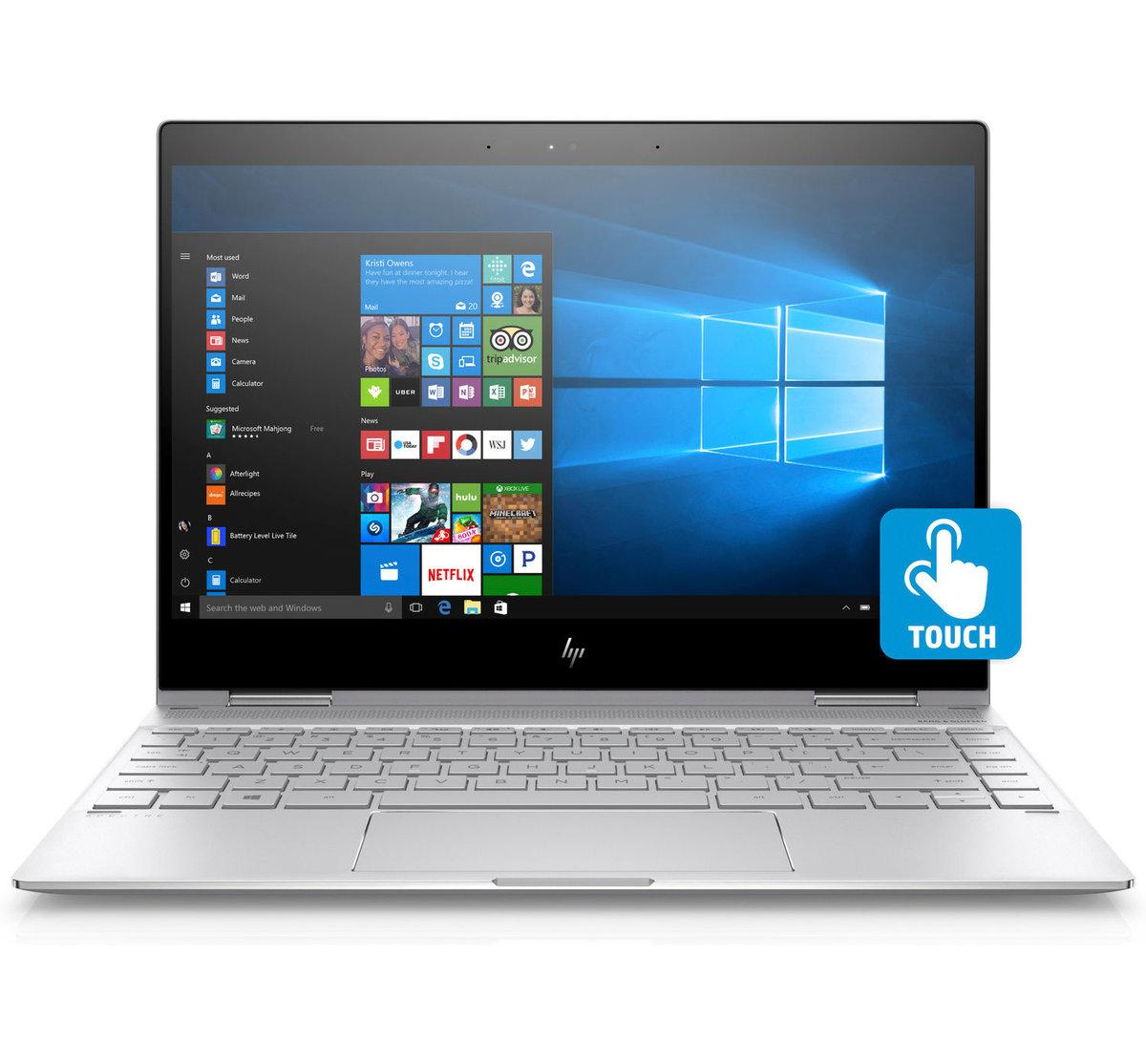HP 3BE48PA Spectre x360 Convertible Laptop 13-ae079TU (Silver)