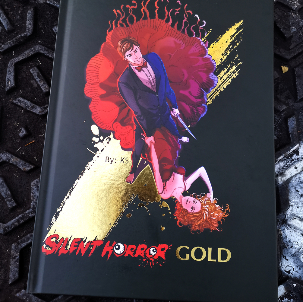 Silent Horror Gold Special Edition (Hard Cover) + Free A2 Size Poster