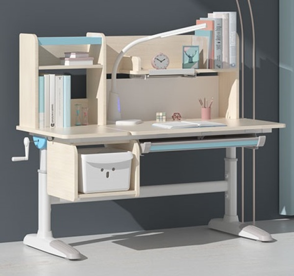 Ergonomic Kids Table - Height Adjustable Children Study Table - Wooden Study Table - Children Study Desk - Play Table for Kid - Reading Drawing
