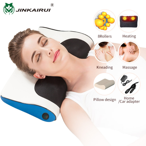 Buy Jinkairui Neck Massager Pillow for Shoulder Back Body with Kneading Heating Electric Massage Machine Singapore