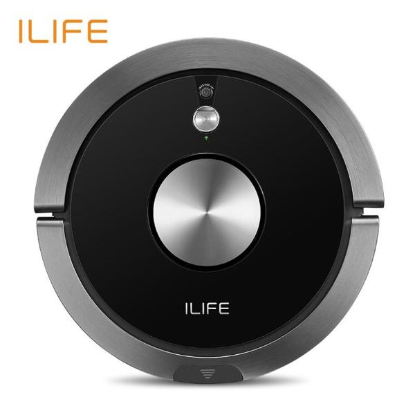 ILIFE A9s Robot Vacuum Cleaner Vacuuming & Wet Mopping Smart APP Remote Control Camera Navigation Planned Cleaning 0.6L Large Dustbin Singapore