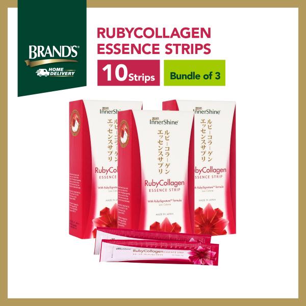 Buy [Bundle of 3] BRANDS® InnerShine RubyCollagen Essence Strips 10 Strips Singapore
