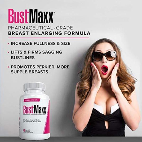 Buy All Natural Breast Enhancement and Enlargement Pills (1 Bottle)   Breast Augmentation Supplement for Larger, Fuller Breasts   with Saw Palmetto, Fenugreek and Dong Quai Singapore