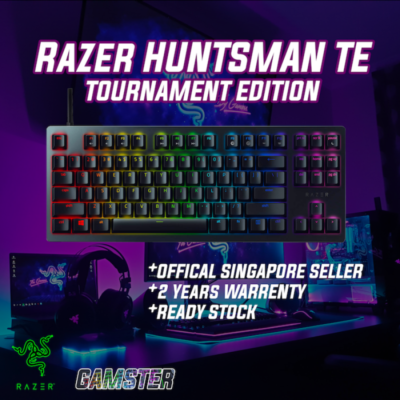 Razer Huntsman Tournament Edition Gaming Keyboard Singapore