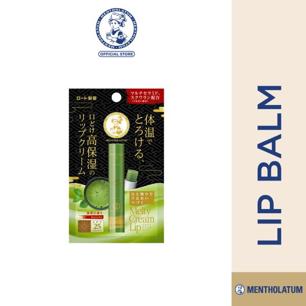 Buy Mentholatum Melty Cream Lip Matcha 2.4g Singapore