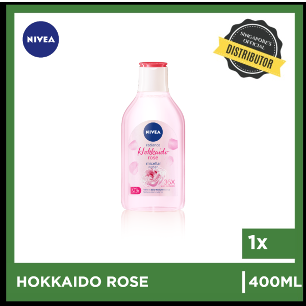 Buy [Nivea] Nivea Rose Micellar Water with Oil 400ml  The Grocery Co -  Skincare Singapore