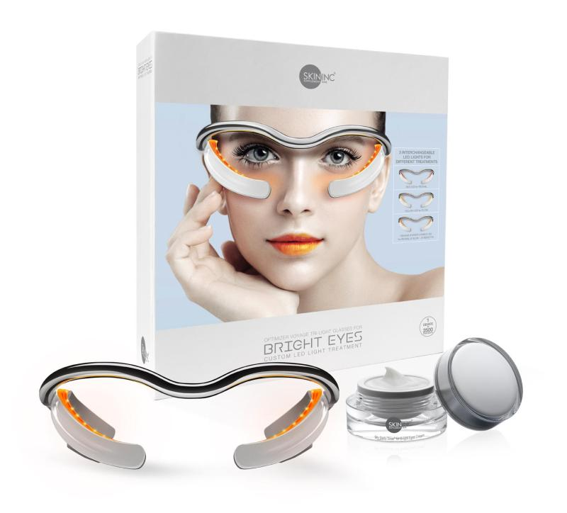 Buy Bright Eyes Duo Set - Includes Optimizer Voyage Tri-Light For Bright Eyes and My Daily Dose for Bright Eyes Cream to reduce dark circles, fine lines and eye puffiness. Perfect combo of LED Treatment Eye Device & Eye Cream. Singapore