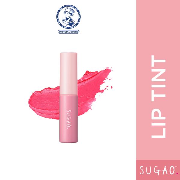 Buy SUGAO Sheer Lip Tint 4.7ml (Berry Pink / Coral Red / Plum Pink) Singapore