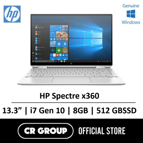 Same Day Delivery Option* HP Spectre x360 Intel® Core™ i7-1065G7 8GB LPDDR4 512GB SSD with FHD IPS Multitouch Corning® Gorilla® Glass NBT™