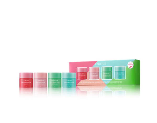 Buy LANEIGE Lip Sleeping Mask Mini Kit [4 scented collections] 8GX4 Singapore