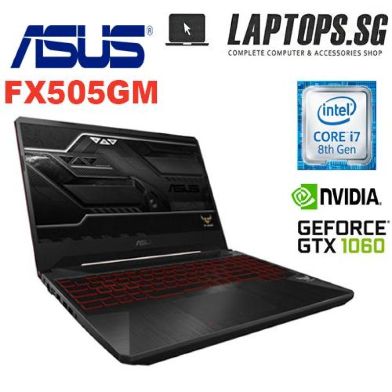 ASUS TUF GAMING LAPTOP FX505GM-ES031T INTEL i7-8750H 2.2 GHz (9M Cache, up to 3.9 GHz) / 8G DDR4 / 1TB 5400RPM + 256G PCIE SSD / NVIDIA GeForce GTX1060 6GB/ 15.6 FHD( 1920x1080), 144Hz / WIN 10 HOME / 2YRS
