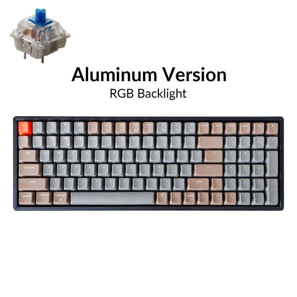 Keychron K4 Wireless Mechanical Keyboard RGB Aluminum