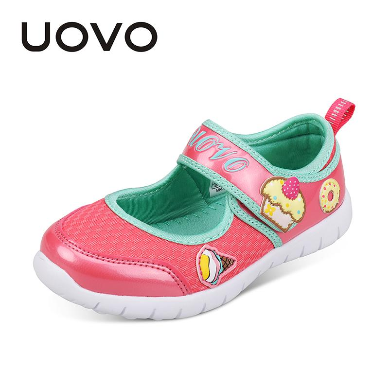 fad154e0d7 Girls Shoes 24-32 Fashion Honey Cool Mesh Hook-And-Loop UOVO Brand New  Light Little Girls Dress Dancing Spring & Summer Baby Footwear Velcro  Toddler ...