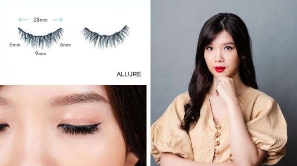 Buy [Design: ALLURE] The LashDresser Magnetic Lashes Singapore