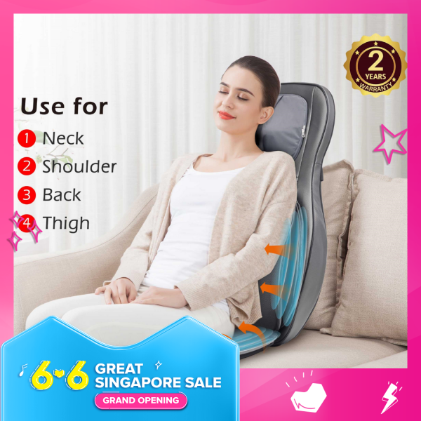 Buy CF-2307A Premium Shiatsu 2D/3D Kneading Full Back & Neck Massager with Adjustable Side and Hips Air Compress Function, Full Body, 2 Years Warranty, SG Ready Stock, Perfect Gift for Your Loved Ones Singapore