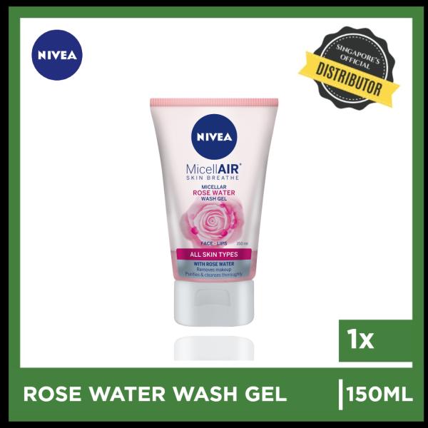 Buy [Nivea] Nivea Rose Water Wash Gel 150ml  The Grocery Co -  Skincare Singapore