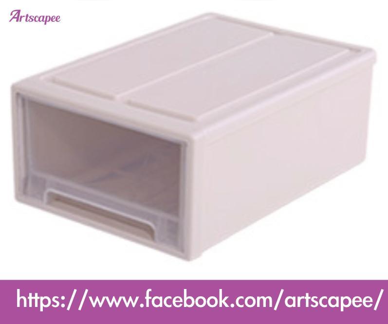 Stackable Storage Container Drawer Style Shoe Box Kitchen