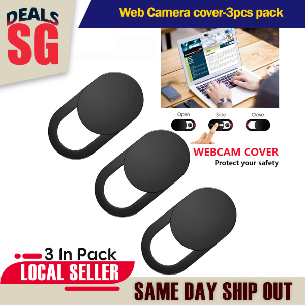 Web Camera cover-3pcs pack | Laptop Webcam Cover Slider Ultra-Thin Privacy Protector Camera Cover for PC, Macbook,iPhone,iPad,iMac