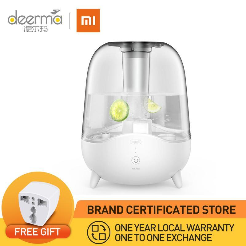 XIAO MI DEERMA Ultrasonic Cool Mist Humidifier 5L Large Capacity 1 Year Local Warranty Singapore