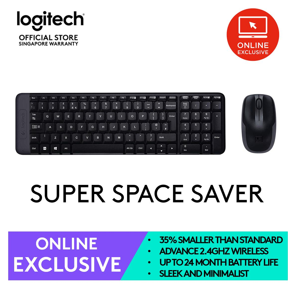 fa2347945f0 Logitech MK215 Wireless Keyboard and Mouse Combo (Online Exclusive)