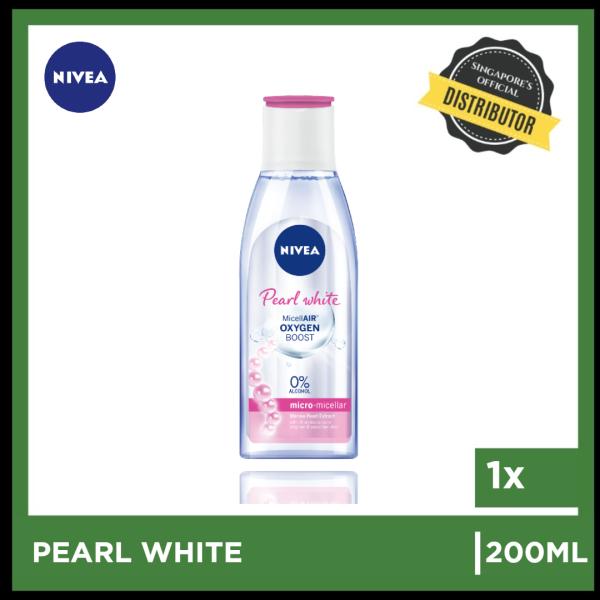 Buy [Nivea] Nivea Pearl White Micellar Water 200ml  The Grocery Co -  Skincare Singapore