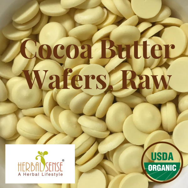 Buy Cocoa Butter Wafers, Raw Certified Organic From Peru Singapore