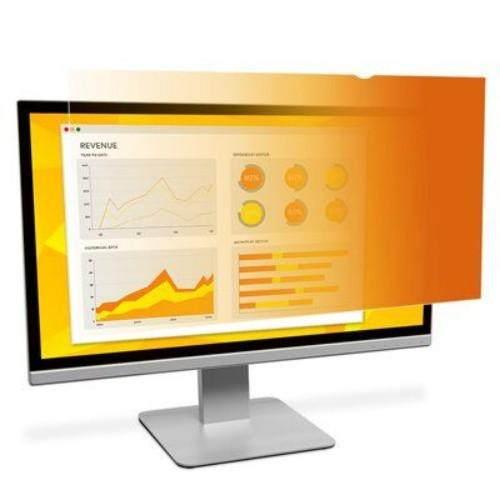 3M™ GF238W9B Gold Privacy Filter for 23.8 Widescreen Monitor