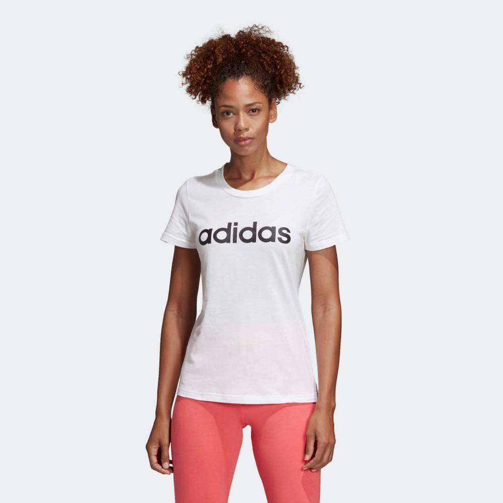 4ba4a1f622ae7 Singapore. adidas Essentials Linear Women Tee DU0629