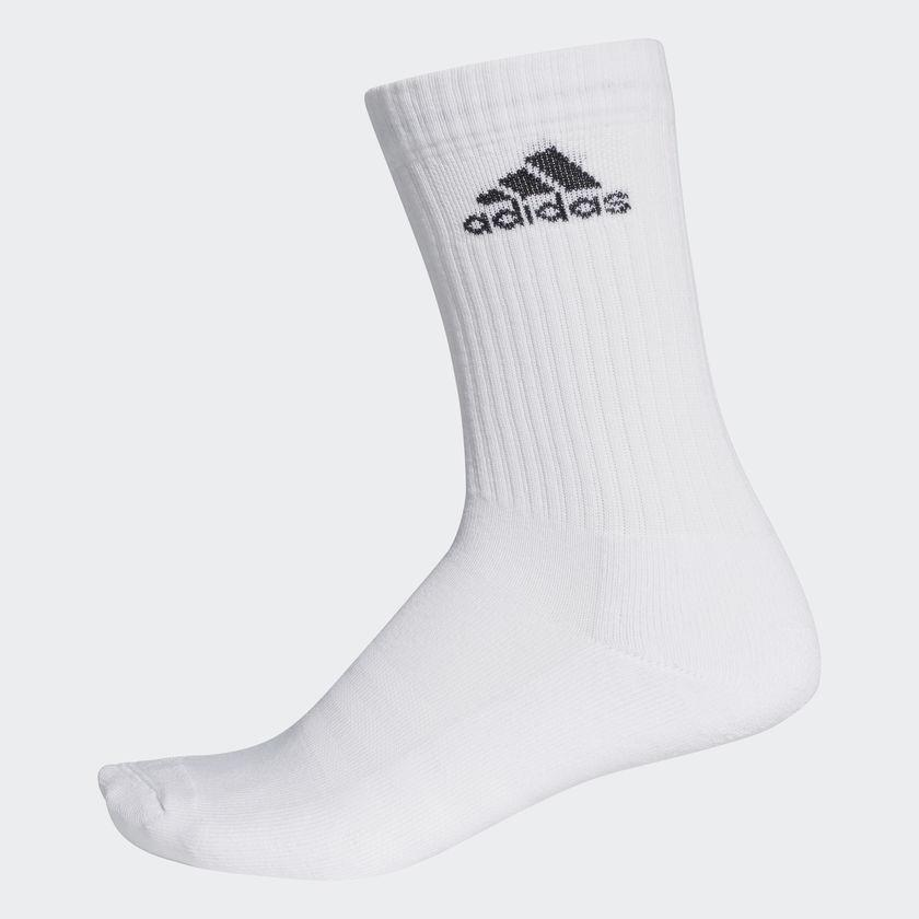 3b22dde8f Adidas 3-Stripes Performance Crew Socks 1 Pair Unisex Aa2300 By Lazada  Retail Adidas Official