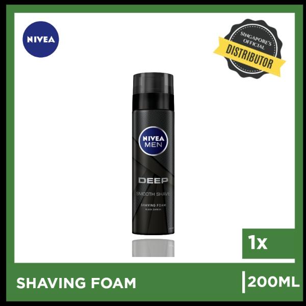 Buy [Nivea] Nivea Men Deep Shaving Foam 200ml | The Grocery Co -  Skincare Singapore