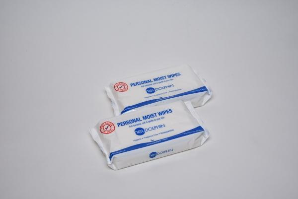 Buy neuDolphin Anti-Bacterial Personal Moist Wipes (24 packs) Singapore
