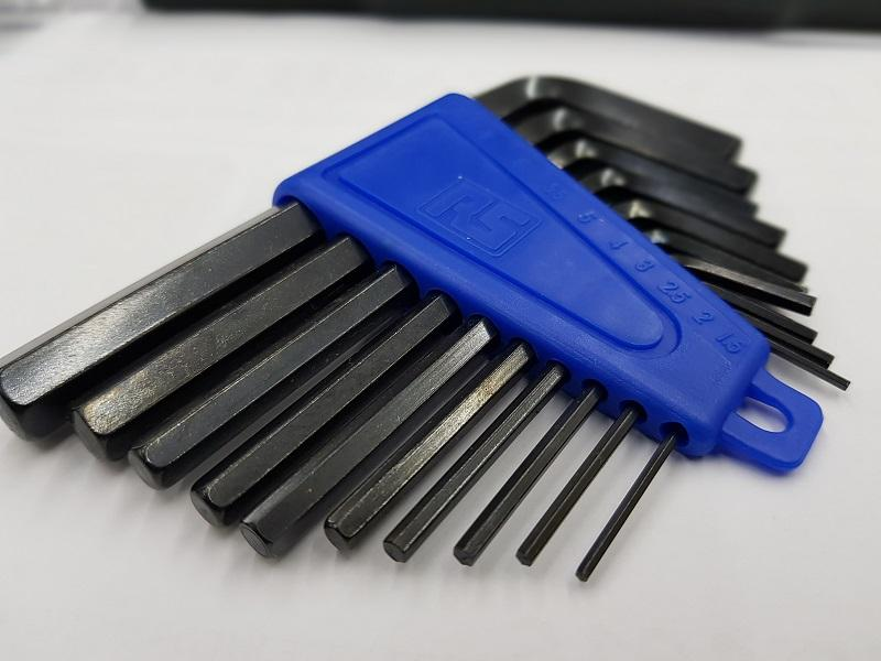 Hex Key Set 10 pieces RS PRO