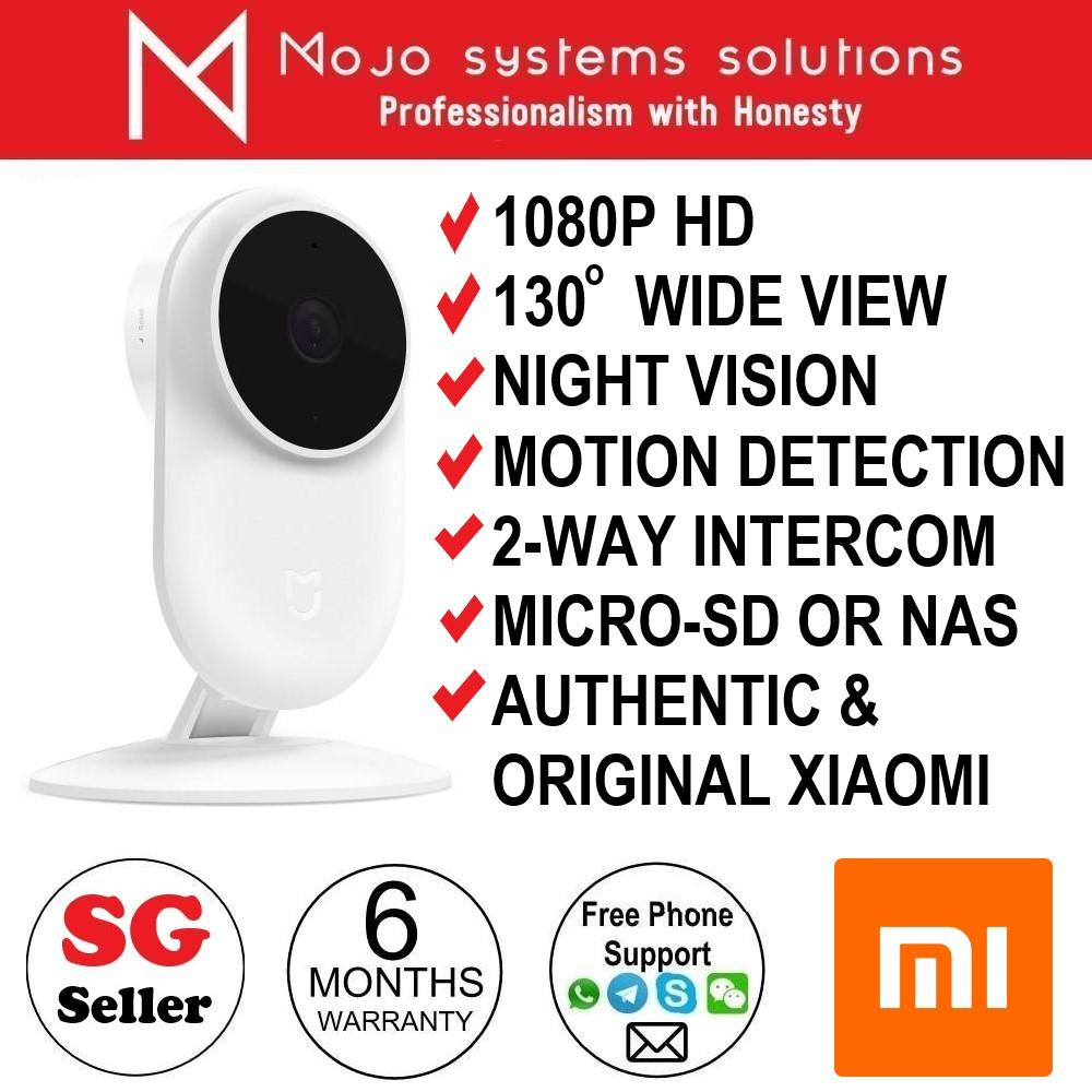 Xiaomi Mijia Mi Home 1080p Security Cctv Night Vision Wireless Network Ip Camera 130 Degree Wide Angle Works With Ios Or Android Mi Home App By Mojo Enterprise By Mojo Enterprise Llp.