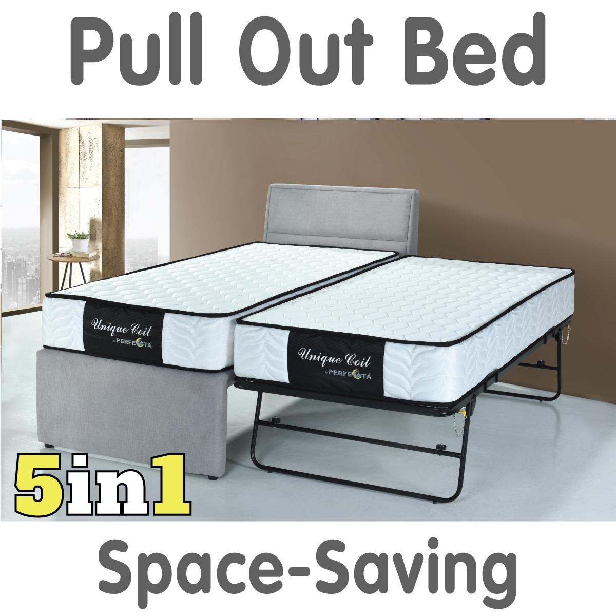 Single size Pull Out Bed 5 in 1 * Free Delivery and Assembly * Local made product