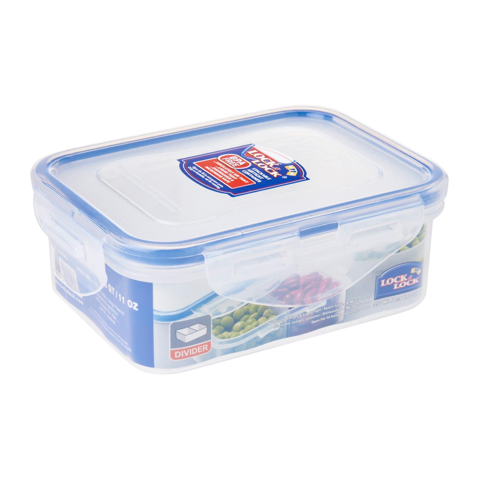 Lock & Lock Classic Food Container With Divider 350ml