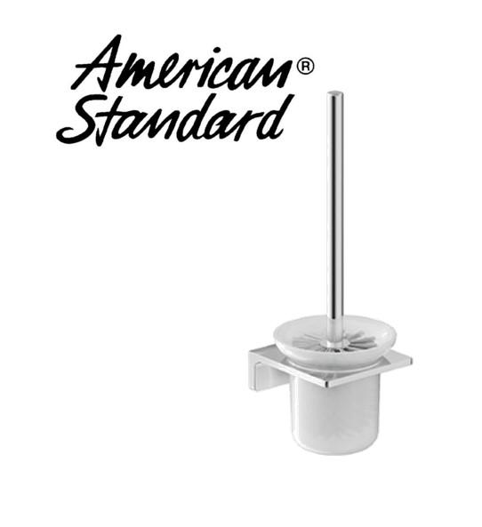American Standard Acacia Toilet Brush With Holder