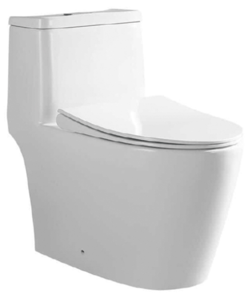 Tiara 918B One Piece Toilet Bowl