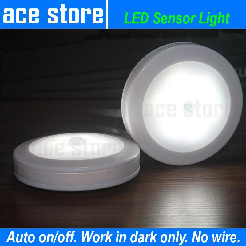 Motion Sensor LED Night Light Slim Round Singapore