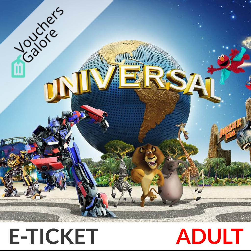 [Adult] Universal Studios Singapore (USS) E-Ticket