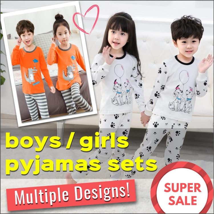 b6b3cc9c SG Seller / Korean Style Pyjamas Set / Kids / Children / Boys / Girls /  Baby / 100% Cotton / Sleepwear / Nightwear / Pajamas / Fast Shipping /  Series ...