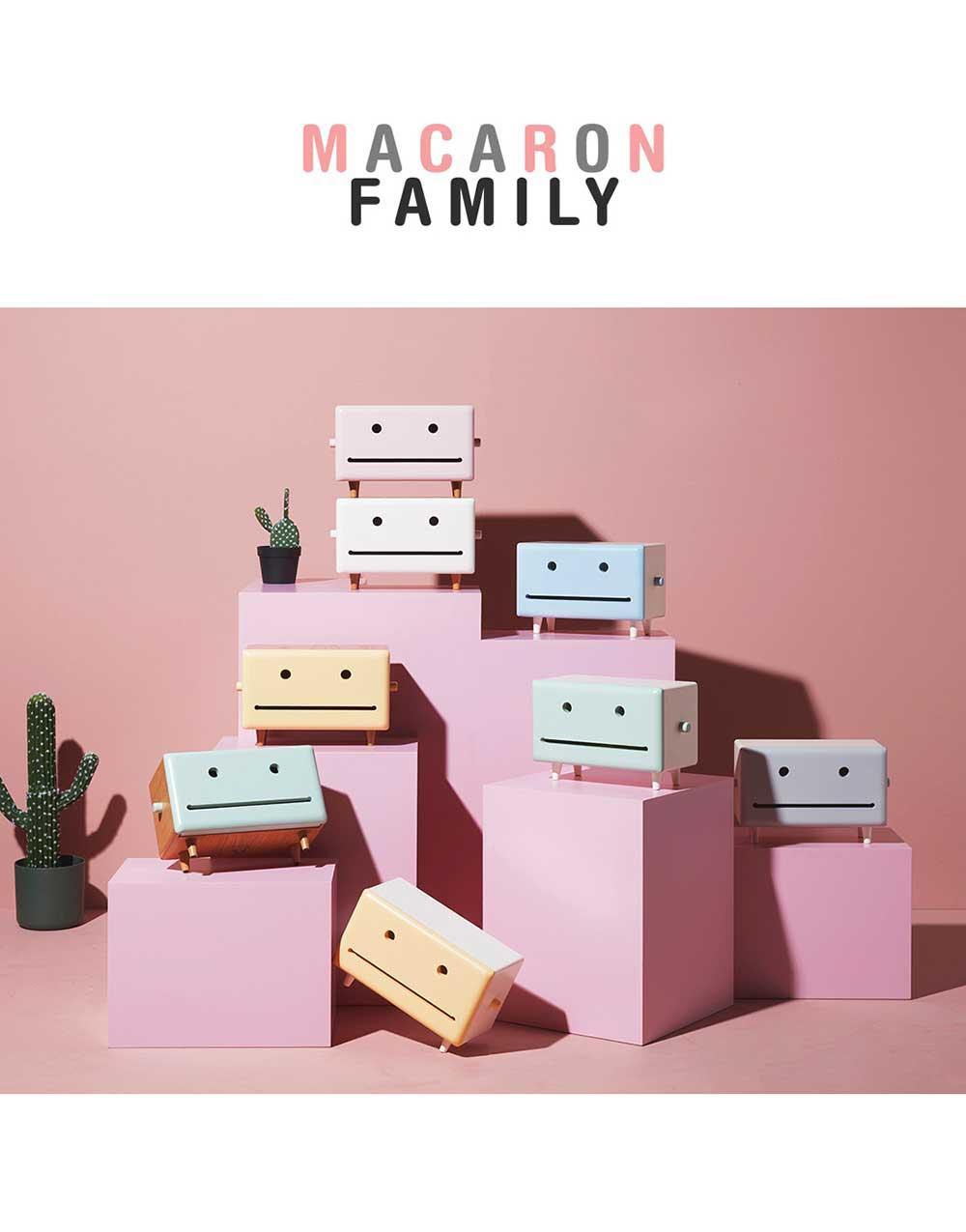 New Macaron Kitchen Tissue Box (Joy)