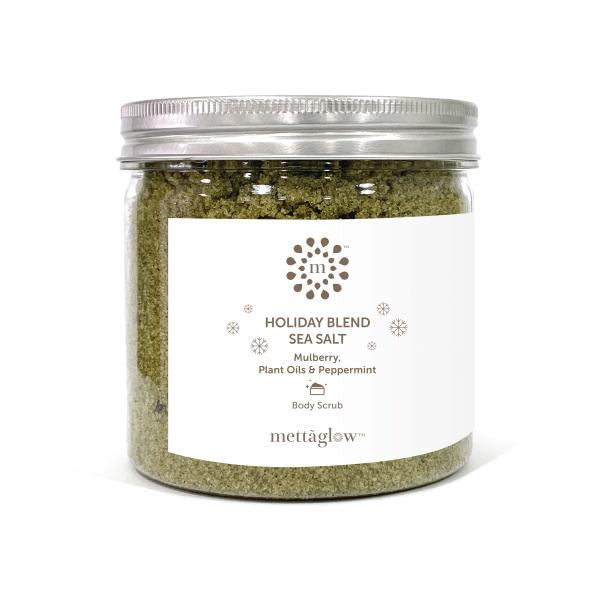 Buy Mettaglow Holiday Blend with Peppermint & Eucalyptus Sea Salt Body Scrub Singapore