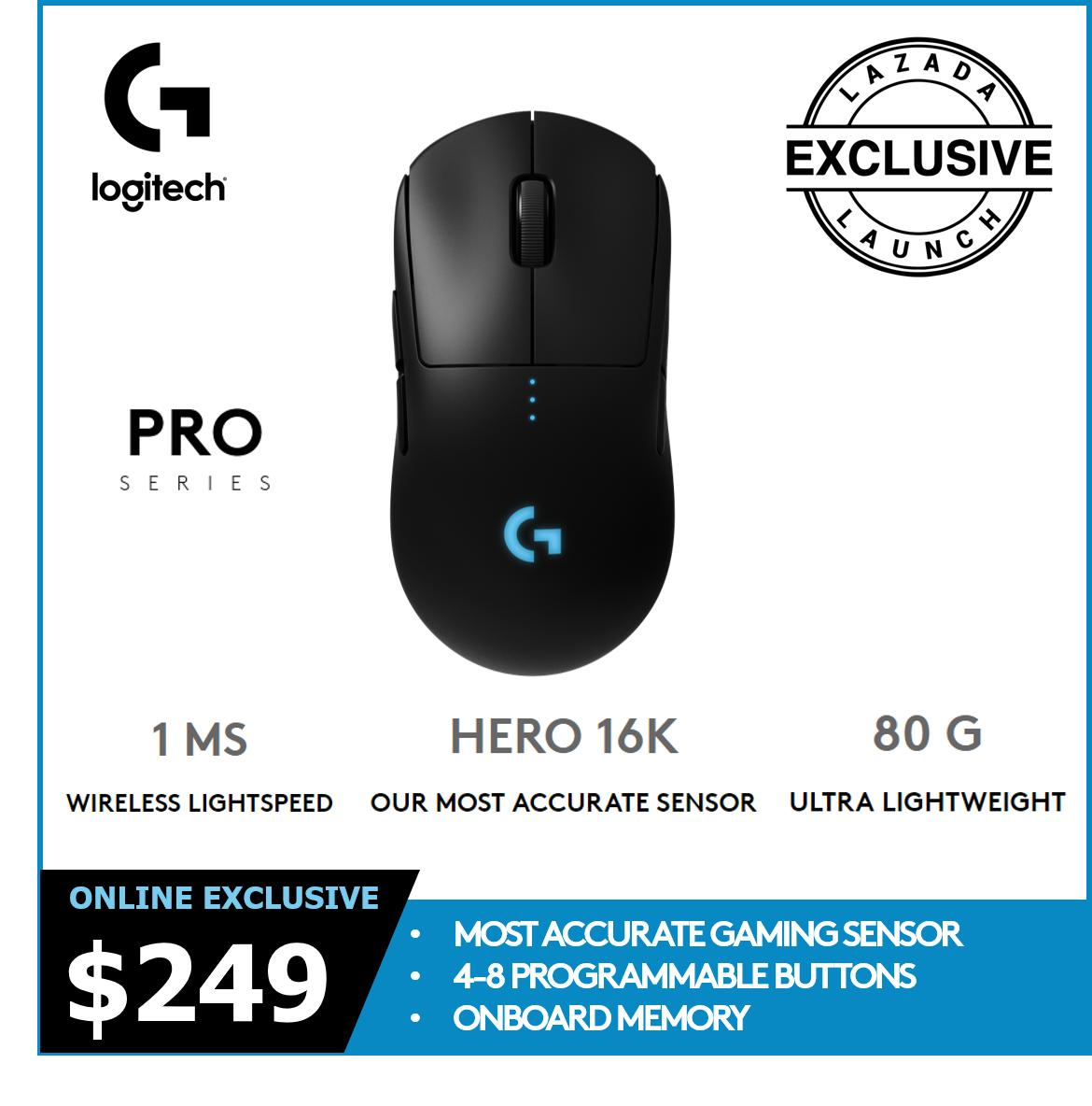 Logitech G Pro Hero Wireless Mouse