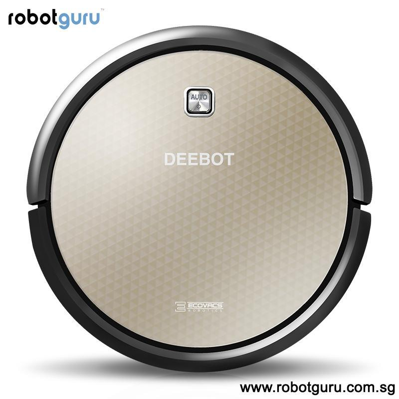 Ecovacs Deebot Gold 2, Smart Robot Vacuum Cleaner with Wet Mopping, Systematic Mapping, Singapore Warranty, Large Water Tank, Slim Quiet Auto Charge, Schedule Cleaning Singapore