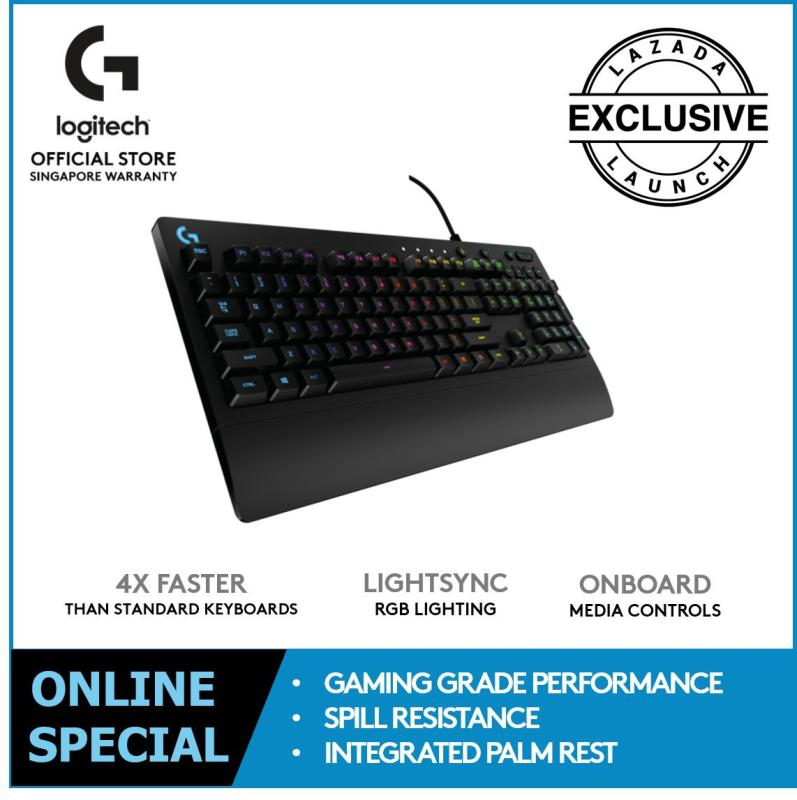 Logitech G213 RGB GAMING KEYBOARD Singapore