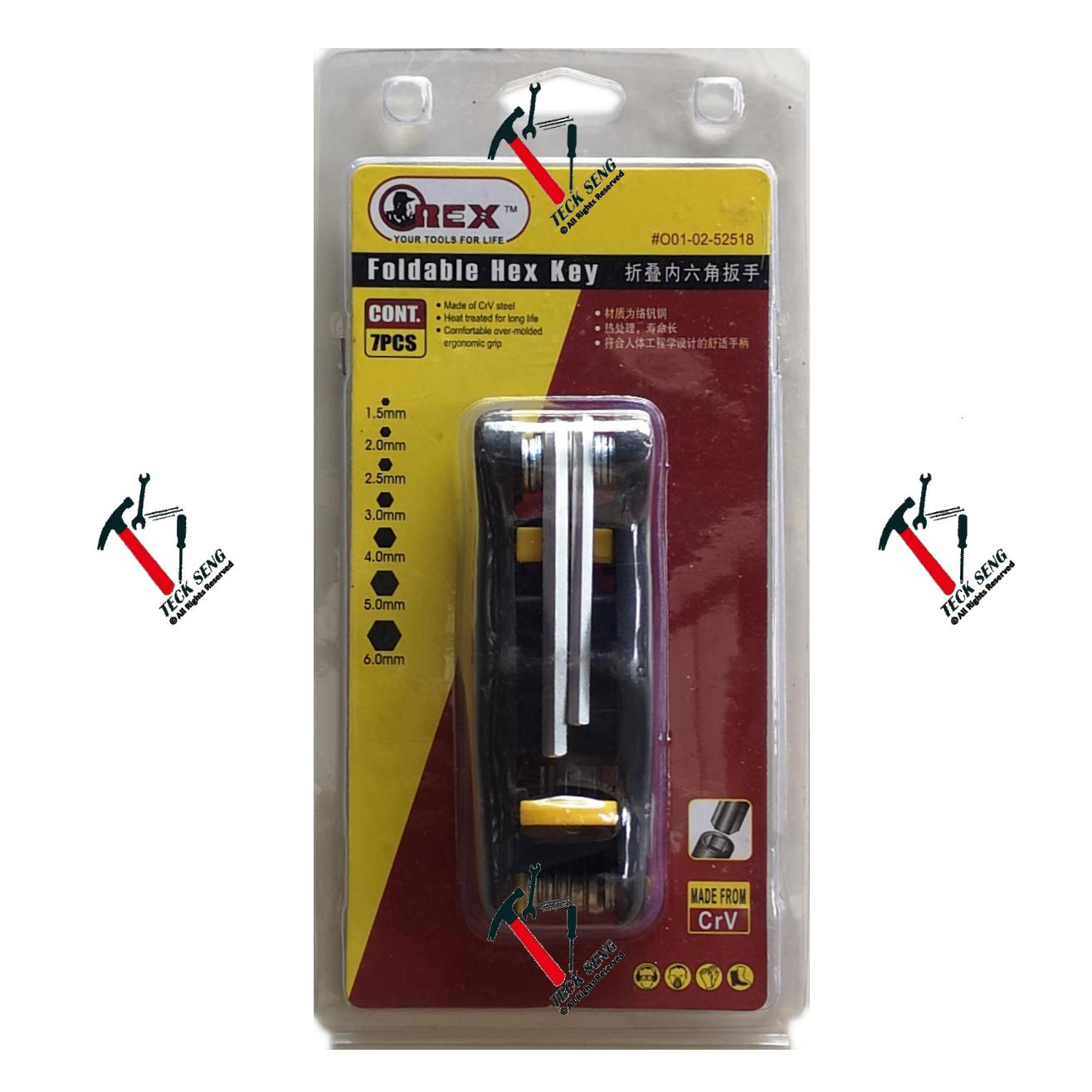 OREX Foldable Hex Key
