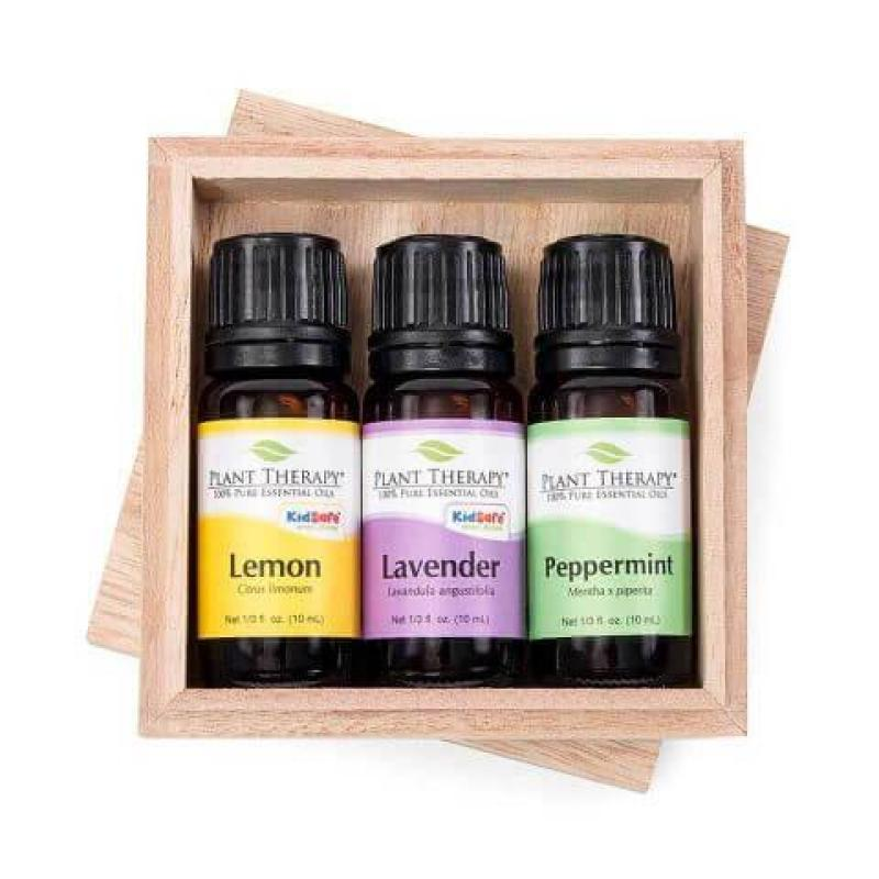 Buy Plant Therapy Essential Oil Gift Set - Lavender - Peppermint - Lemon. Singapore