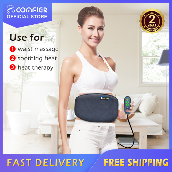 Buy Comfier CF-6006N Wired Waist Slimming Belt Vibration Massager Heating Pad for Fat Burning, Tone-up Tummy, Relieve your Back Pain Stiffness, 2 Years Warranty, SG Ready Stock, Mothers Day Gift Singapore
