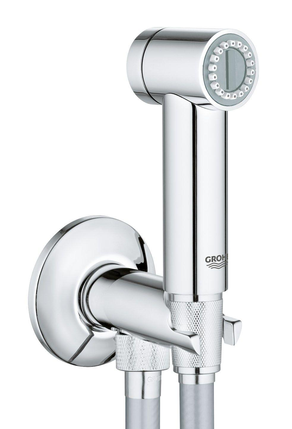 GROHE Sena Trigger Spray Wall holder set With Angle Valve