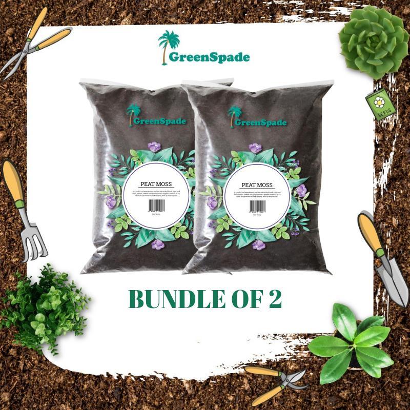 [BUNDLE] Green Spade Peat Moss 5L x 2PCS (Planting Substrates)